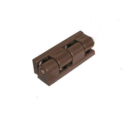 Шарнир с металлическим стержнем 52 мм коричневый - фото 4981