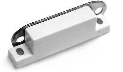 Магнитный держатель тонкий белый - фото 4982