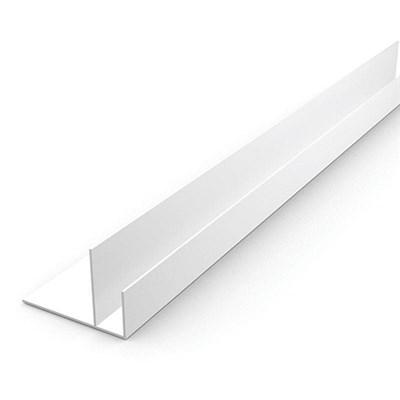 Профиль ПВХ F-образный 55 мм для панелей 9 мм, 3000 мм - фото 5055