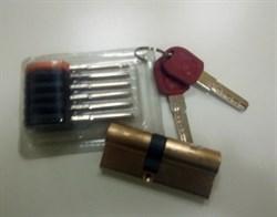 Механизм цилиндровый  40*30 с перекодировкой антибампинг, 2+1+5 ключей - фото 5197
