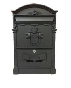 Ящик почтовый К-31091, черный - фото 5542