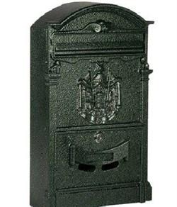 Ящик почтовый К-31091, антик зеленый - фото 5549