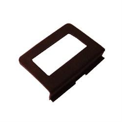 Ручка под шнур большая, коричневая - фото 5762