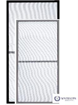 """Москитная сетка """"Я сам"""", набор для монтажа (серая, черная) - фото 6070"""