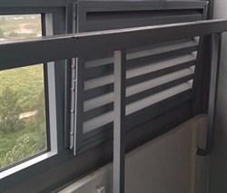 Замена балконной вентиляционной решетки на стекло - фото 6106