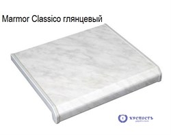 Подоконник Danke Marmor Classico (серый клас мрамор), глянец - фото 6380