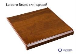 Подоконник Danke Lalbero Bruno (коричневый дуб), глянец - фото 6381