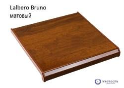 Подоконник Danke Lalbero Bruno (коричневый дуб), матовый - фото 6389