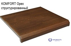 Подоконник Danke Komfort  Орех 3D, матовый - фото 6395