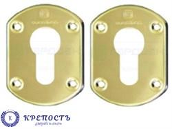 Накладки  Gardian на  цилиндр ГХ 31 (1 пара), золото - фото 6757