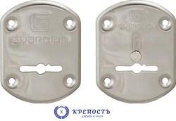 Накладки сувальдные Gardian  хром ГХ 21 (1 пара) - фото 6766