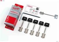 """Комплект ключей для перекодировки  Cisa  """"New Cambio"""" 06.520.51.1, (64 мм, 5 ключей)"""