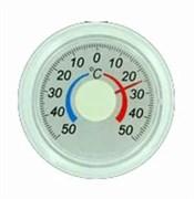 Термометр оконный биметаллический, круглый