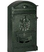 Ящик почтовый К-31091, антик зеленый