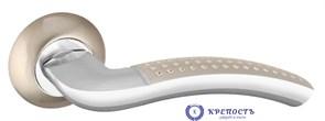 Ручка раздельная LOGICA TL SN/CP-3 матовый никель/хром, квадрат 8*140 мм