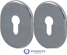 Декоративная накладка Fuaro  под цилиндр ESC 473 СP ХРОМ ( 1 пара)